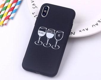 wine glass iphone xs case