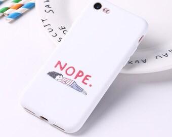 coque iphone 6 nope