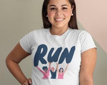 Fun Run Track Club \u2022 Retro Graphic Muscle Tee \u2022 Fun Run Track Club \u2022 Ladies\u2019 Muscle Tank Top