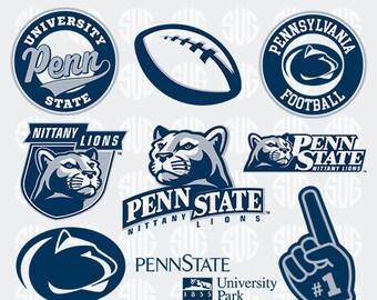f832f8f4b Pennsylvania State University Files, Pennsylvania State University SVG, Penn  State Printable Logos, Digital College Football, Cameo - Logo_4