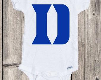 4741b5ae73075b Duke Blue Devils Custom Baby Onesie