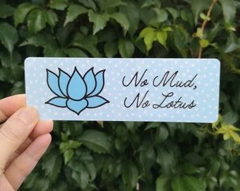 "Jersey Tank Top /""No Mud No Lotus/"" Yoga Flowery Lotus Eye Print TS906"