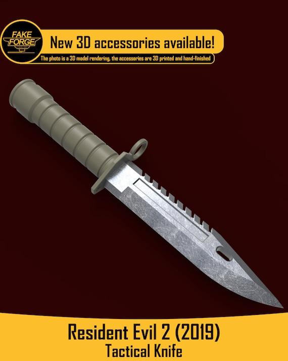 leon kennedy resident evil 4 knife