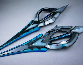 DIGITAL 3D MODEL Battle Academia Katarina Daggers from League of Legends Riot Games Videogames