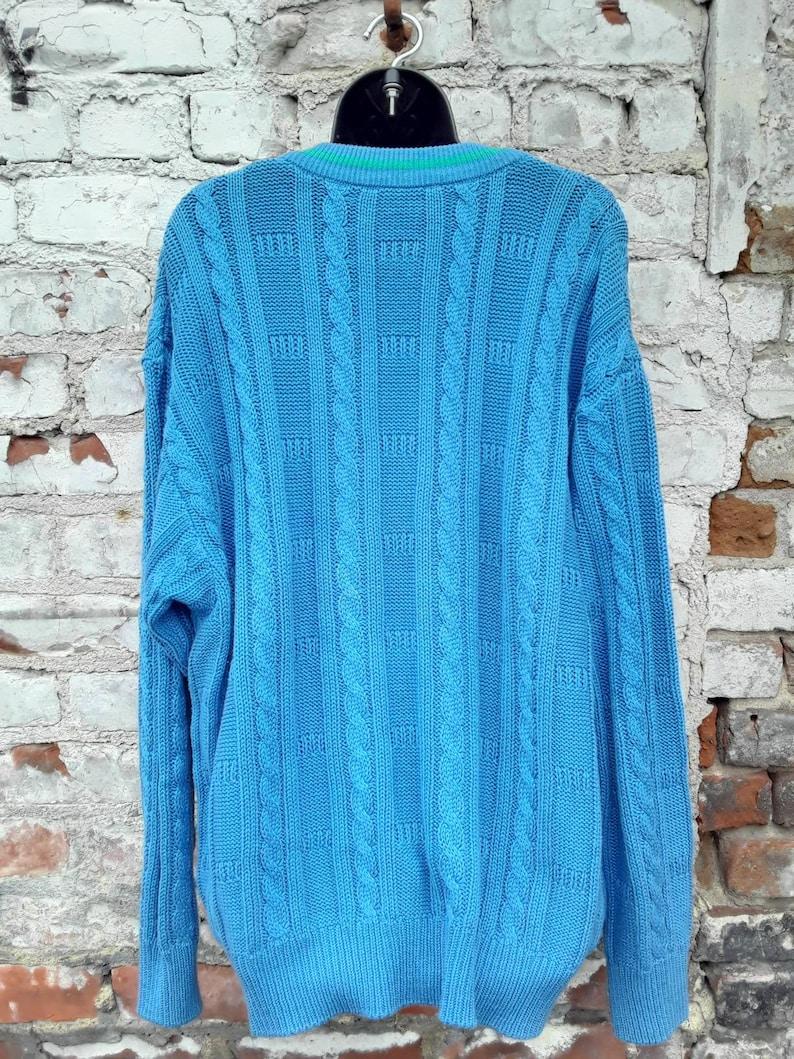 80s Oversize Cardigan Sweater Women/'s Size Medium M 6 8