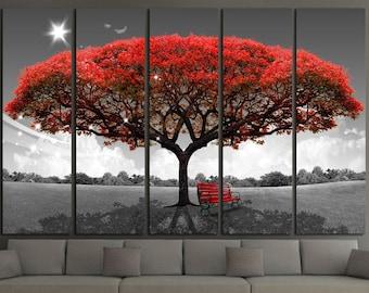 Tree Wall Art Etsy