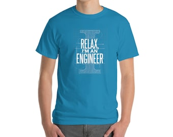 2890de4c Relax I'm An Engineer Graphic Tee