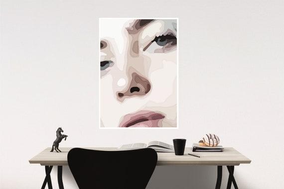 24x36 Kate Moss Boxing Gloves poster wall art decor photo print 16x24 20x30