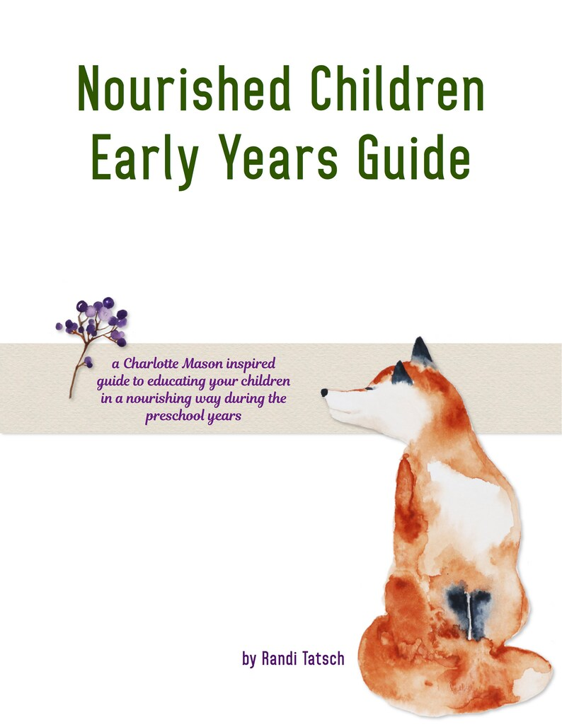 Nourished Children Early Years Guide image 0