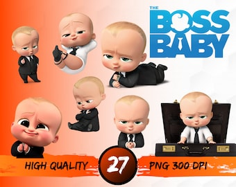 graphic regarding Boss Baby Printable known as Manager youngster printable Etsy