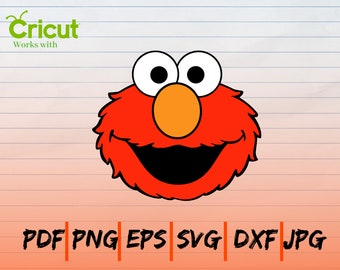 graphic regarding Elmo Printable called Elmo printable Etsy