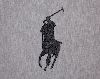 Polo Iron On Patch Etsy