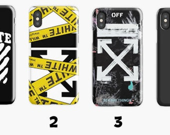 the best attitude 8c186 265e2 Off white phone case | Etsy