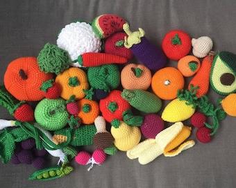 Colgantes de frutas Amigurumi para llaveros o mochilas en 2020 ... | 270x340