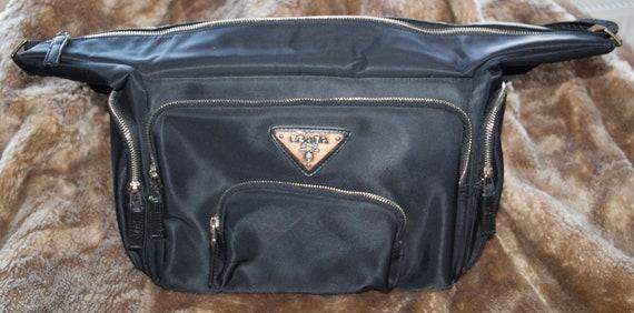 Prada nylon shoulder bag vintage