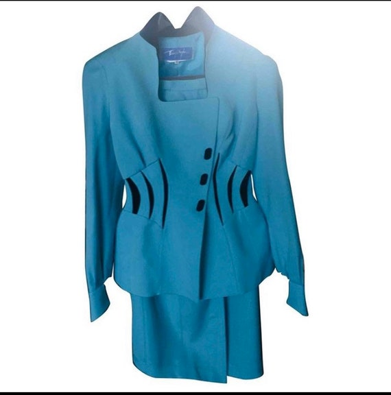 WANTED!! Thierry Mugler blazer jacket suit