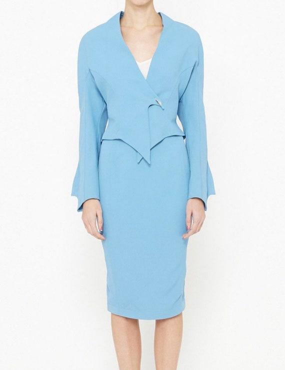 WANTED!! Thierry Mugler Blazer Jacket & skirt