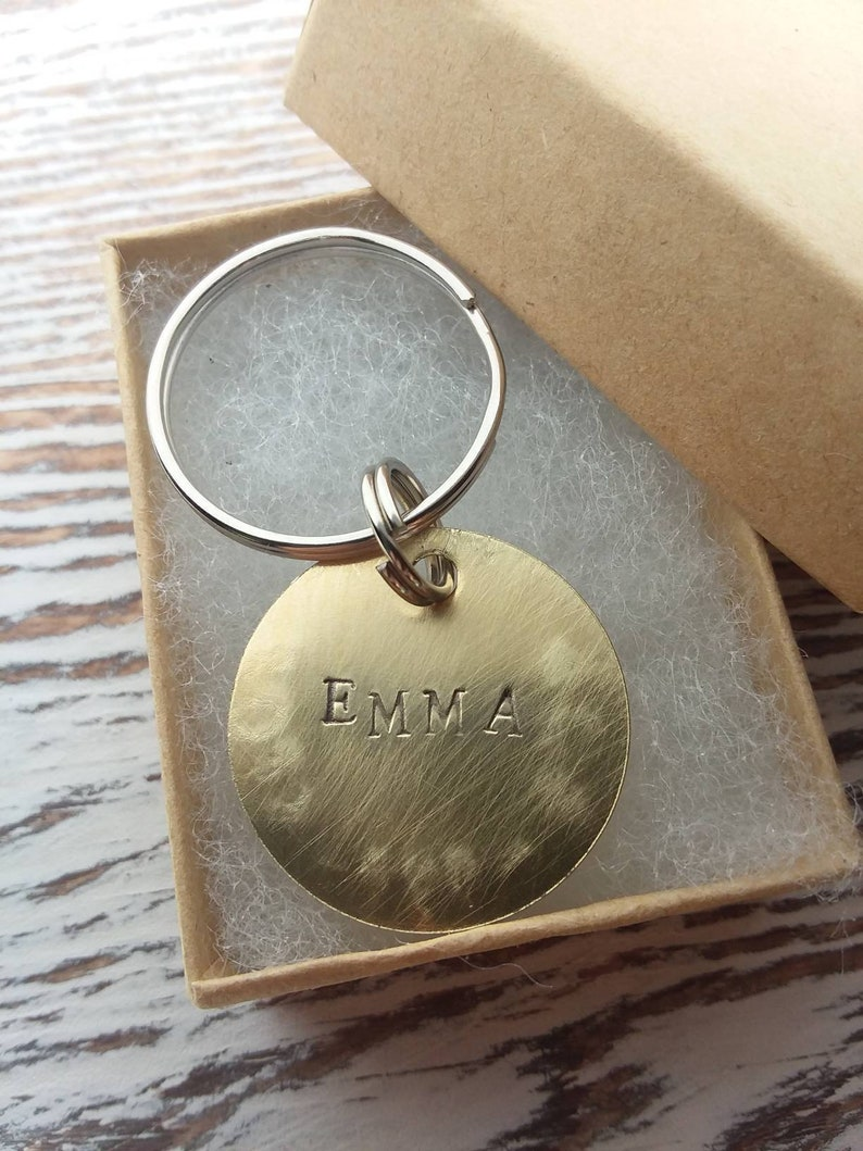 Personalized PetDog Tag brass Dog Tag Hand Stamped Pet ID Tag Engraved Dog Tag Dog Collar Tag Hand-stamped Pet Tag