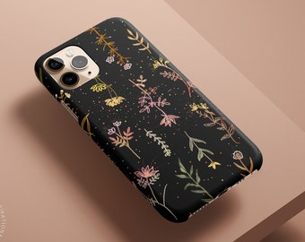 FALL Floral iPhone 12 Case, Autumn iPhone 11 Pro Max Case Floral Celestes Cases©, Ditsy Floral iPhone 11 Pro Case, Flower iPhone 8 Case