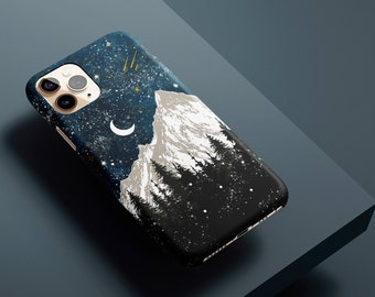 BLUE iPhone 11 Pro Case, WINTER iPhone XS Case Protective, Fall iPhone 12 Case Celestes Cases©, Winter iPhone 11 Pro Max Case Protective