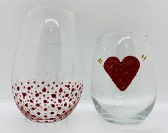 Happy Valentine's Day Glasses