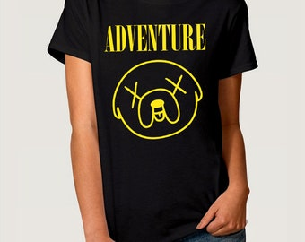 Finn And Jake Tshirt Etsy