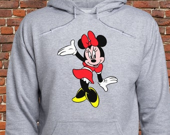 6e38b75c549 Cute Minnie Mouse hoodie  Minnie Mouse sweatshirt  Minnie Mouse Pullover   Disney Minnie  hoody  jumper  sweater  men  for women  (A52)