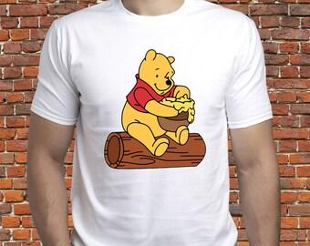 e4ccef52c04f1 Winnie the Pooh tshirt  Winnie shirt  Pooh t shirt  Winnie the Pooh Honey  Pot  Disney Winnie-the-Pooh  Cute Winnie tee  Disney gift  (A11)