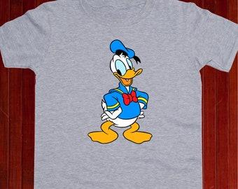 5717ab4d Donald Duck tshirt/ Donald Duck shirt/ Disney Donald Duck t-shirt/ Donald  Duck tee/ Donald Duck t shirt/ Kids t-shirt/ Toddler tee/ (A4)
