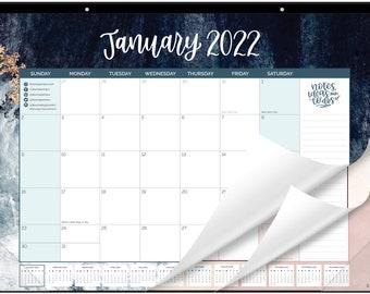 "2022 Desk & Wall Calendar, 16"" x 21"", Watercolor"