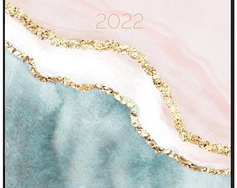 2022 Monthly Planner, Daydream Believer