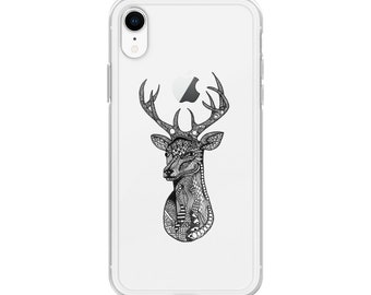 df60699e01cc Zentangle Deer Buck iPhone Case For Hunters - iphone 6