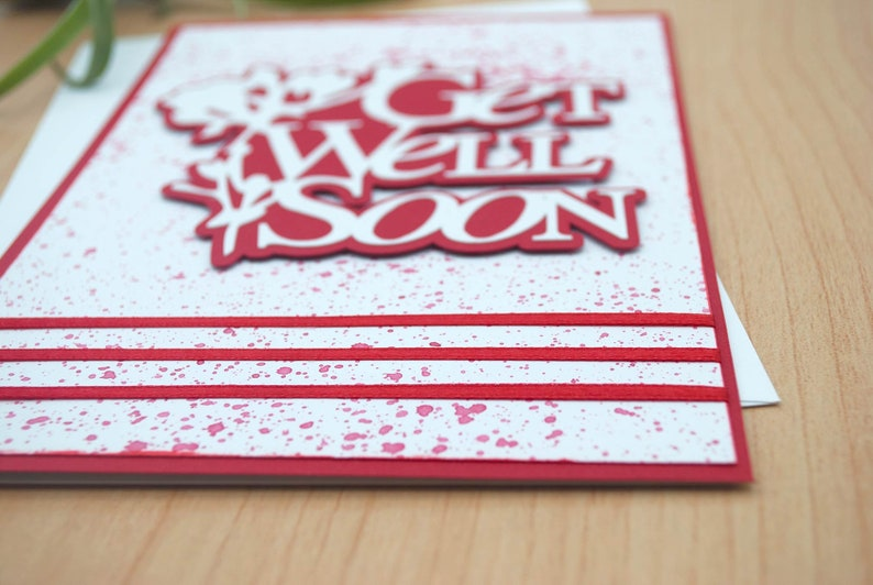Feel Better Soon Thinking of You Get Well Card with Envelope Speedy Recovery to Brighten a Hospital Stay