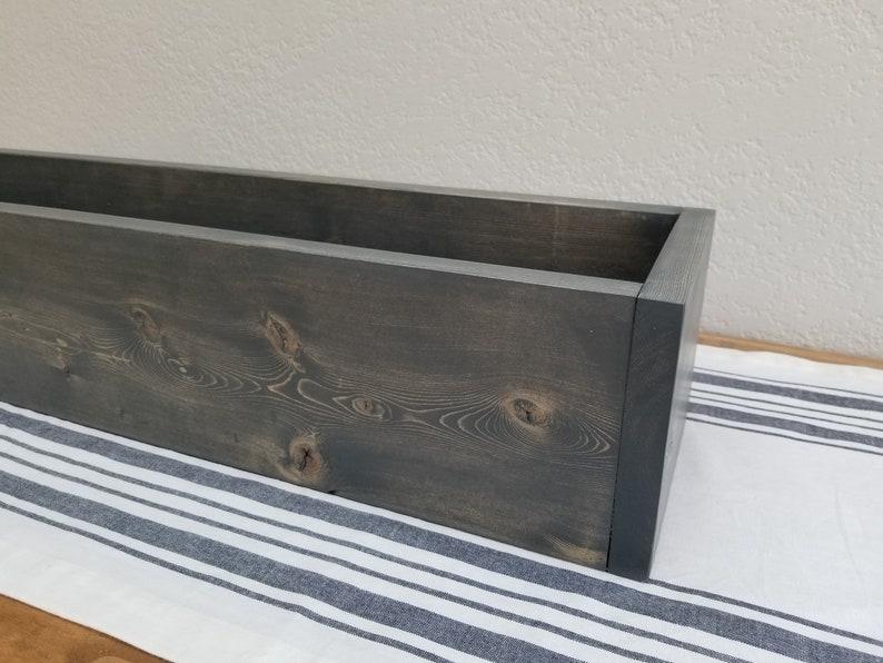 Custom Painted Home Decor Farmhouse Decor Personalized Gift Wedding Centerpiece Box