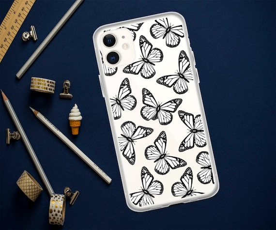 Saleclear Butterfly Iphone Casesiphone 11 Caseiphone 11 Etsy