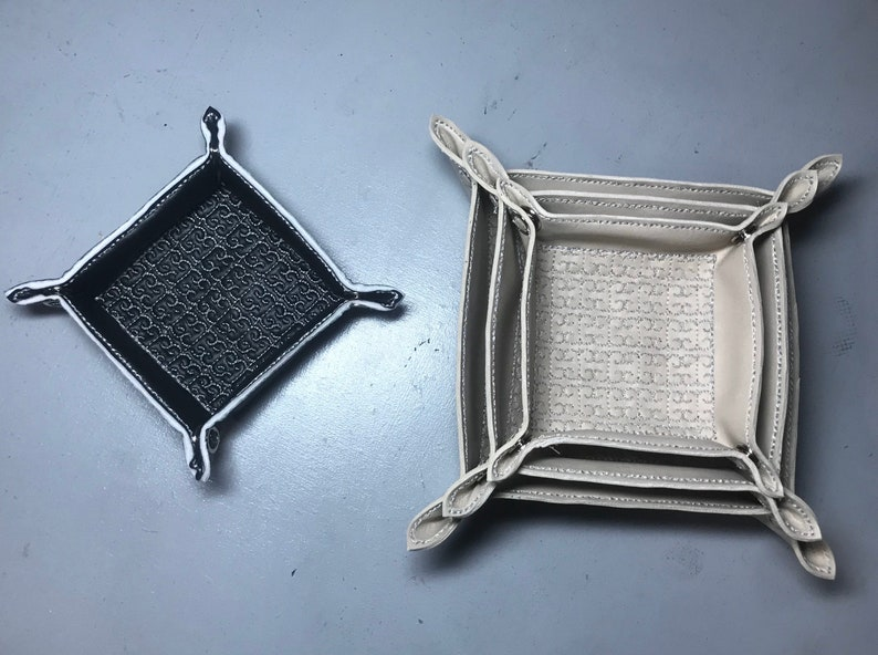 Embroidered Snap Trays