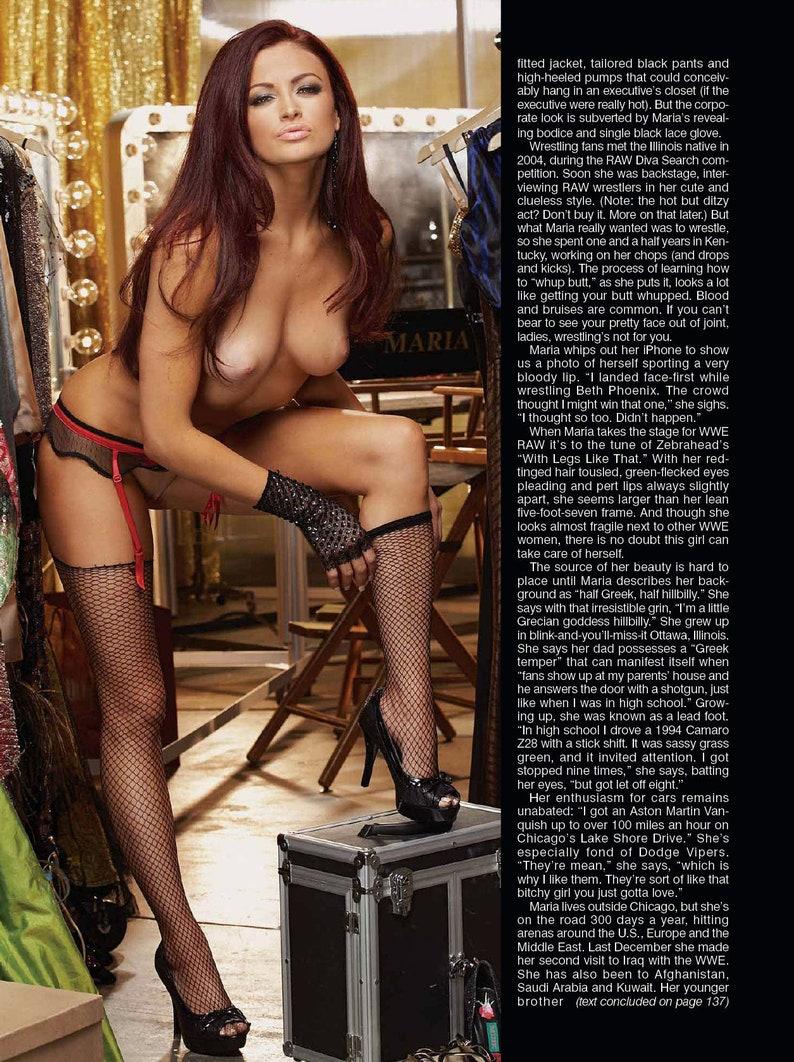 Wwe Maria Nude Photos Leaked