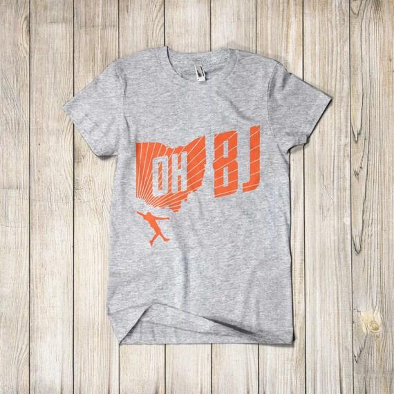 meet 8c93e 9cf20 Odell Beckham Jr Shirt OBJ Cleveland Browns Tshirt Apparel Merch