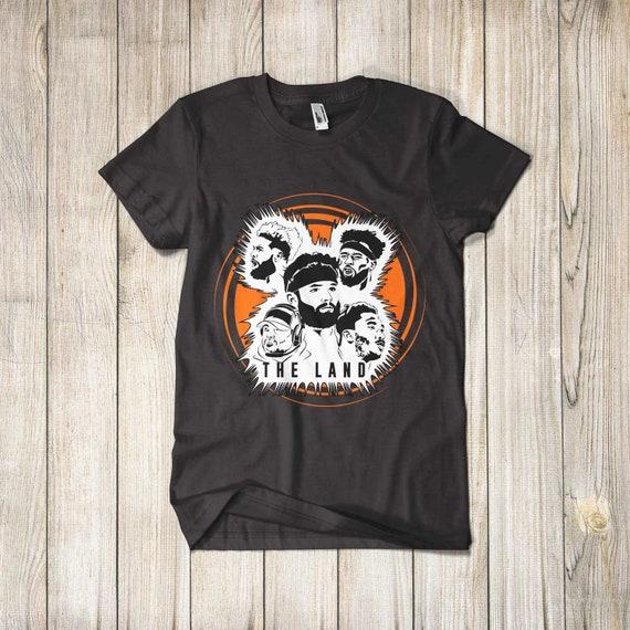 newest c616c 95801 The Land Odell Beckham Jr Cleveland Browns Shirt OBJ Tshirt Apparel Merch  Men Women Tee
