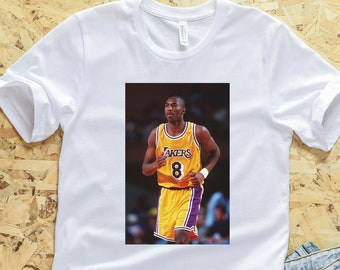 fa660bb45 Kobe Bryant Rookie T-Shirt - Black Mamba Shirt