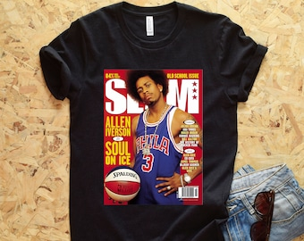 4631cd57fec Allen Iverson SLAM Cover T-Shirt - AI Shirt