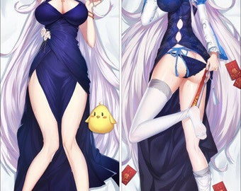 Azur Lane AL Atago Wedding Dress Dakimakura Pillow Cover 2Way Tricot 160 x 50