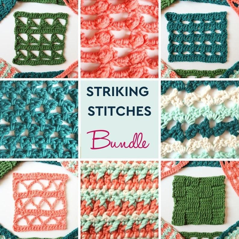 8 striking crochet stitch patterns unique crochet stitch image 0