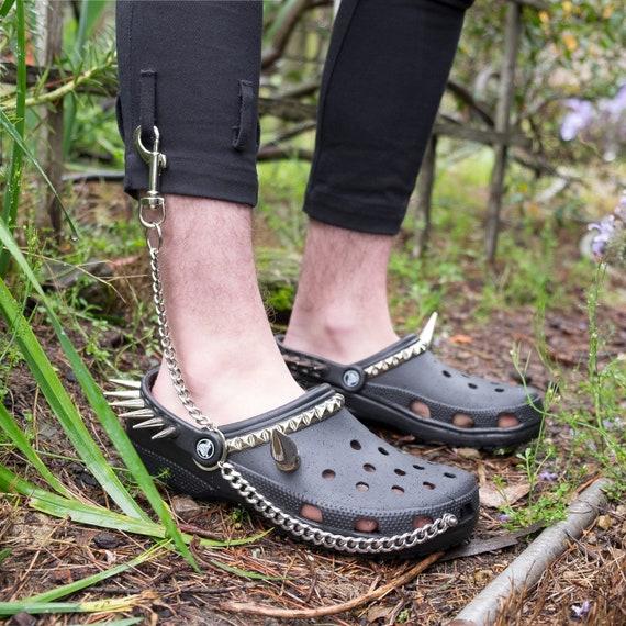 Goth Crocs Original | Etsy