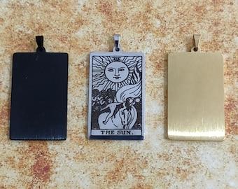 The Sun - Tarot Card Pendant Necklace
