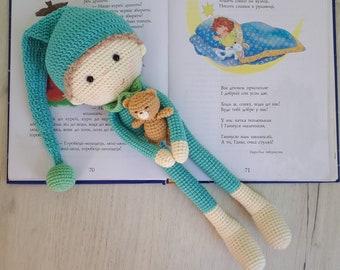 Amigurumi doll crochet patterncrochet sleepy doll with pillow | Etsy | 270x340