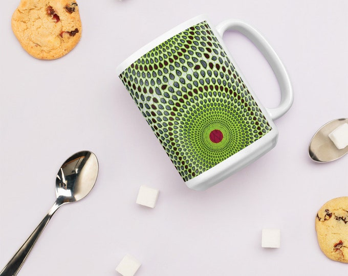 Ankara Print Design Mug - cycles