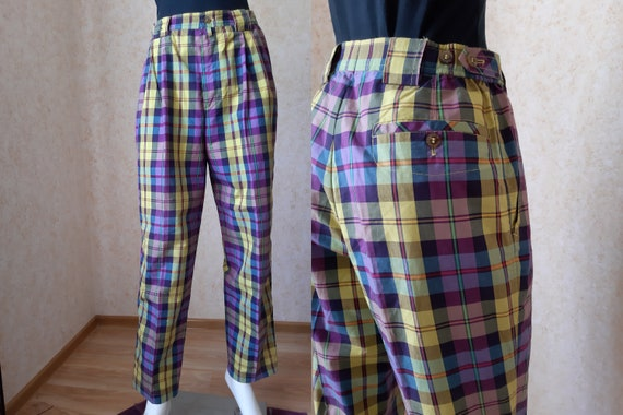 Vintage pants, SIze L US 12 pants Vintage Miss Hig