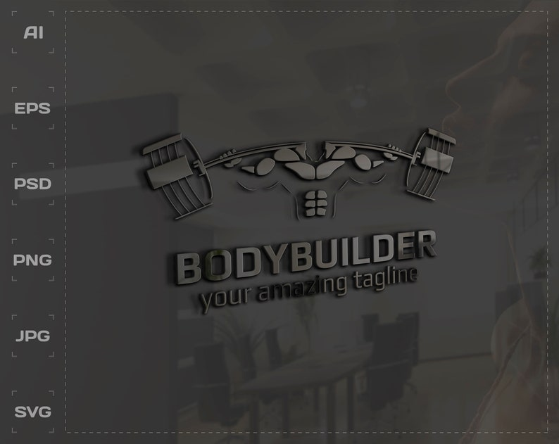 9f17c93d1ea1 Fitness and Gym Logo cool logo design for your brand and