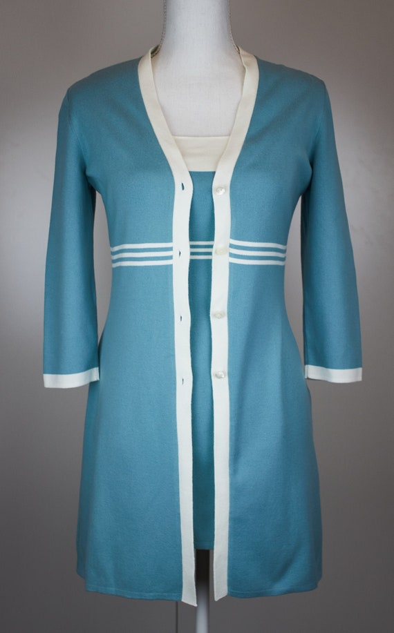 Vintage Loro Piana dress twin set two peaces dress